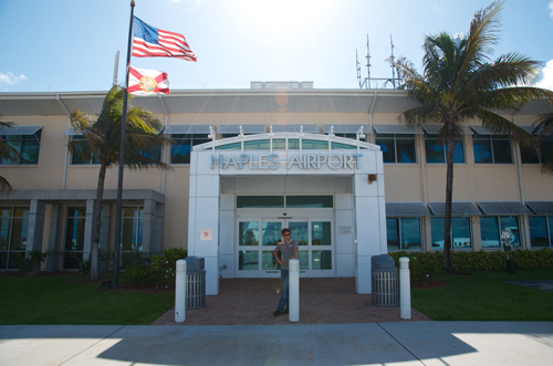 Naples Municipal Airport Building