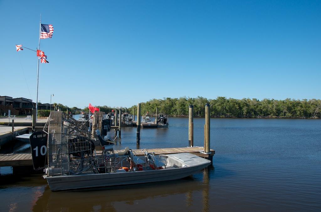 Everglades Airboat Pier